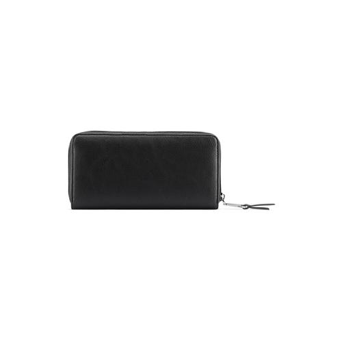 Portafoglio da donna con borchie bata, nero, 941-6161 - 26