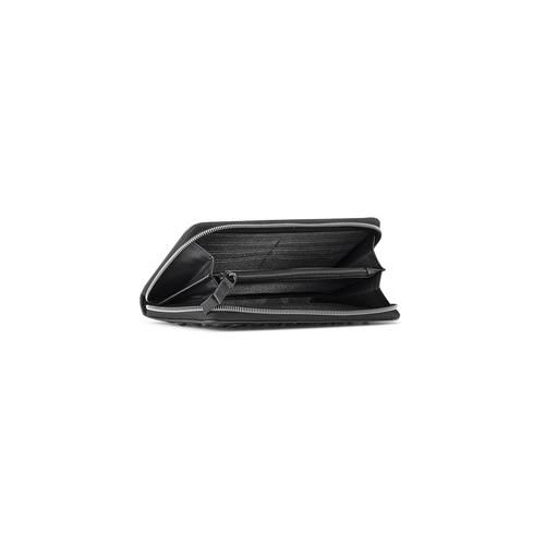 Portafoglio da donna con borchie bata, nero, 941-6161 - 16