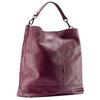 Shopper in pelle bordeaux bata, rosso, 964-5261 - 13