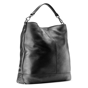 Shopper da donna in pelle bata, nero, 964-6261 - 13