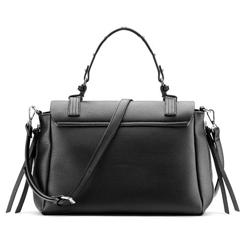 Borsa da donna espandibile con zip bata, nero, 961-6171 - 26