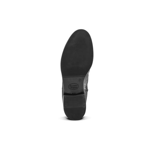 Stivali con dettaglio arricciato bata, nero, 594-6355 - 17