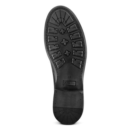 Scarpe da uomo senza lacci bata, nero, 824-6240 - 19