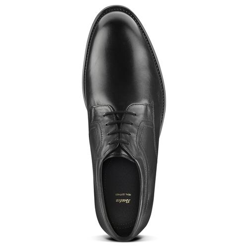 Scarpe stringate in pelle bata, nero, 824-6460 - 15