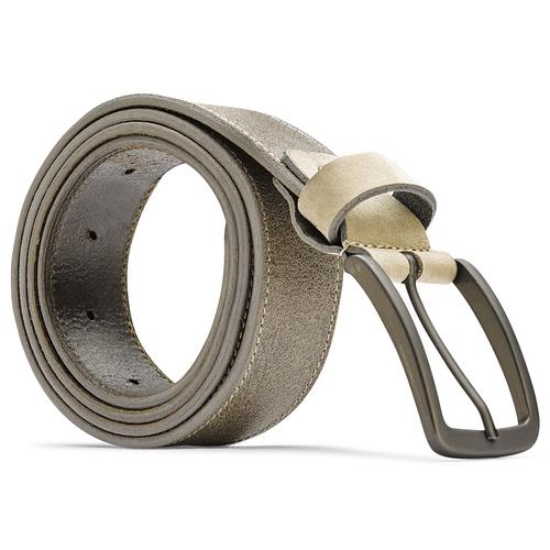 Cintura uomo bata, beige, 954-8109 - 26