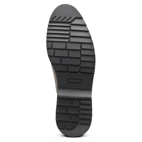 Scarpe Derby da uomo bata-light, grigio, 823-2986 - 17