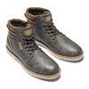 Stivaletti casual da uomo bata, grigio, 891-2721 - 19