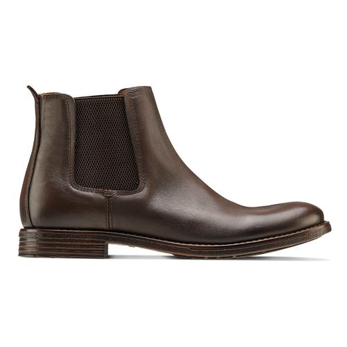 Chelsea Boots in pelle da uomo bata, marrone, 894-4152 - 26