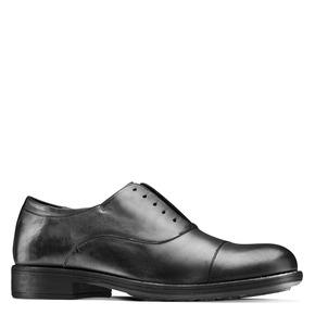Scarpe da uomo senza lacci bata, nero, 824-6240 - 13