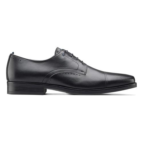 Scarpe eleganti in pelle bata, nero, 824-6845 - 26