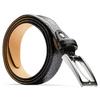 Cintura nera in pelle bata, nero, 954-6230 - 26
