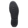 Monk da uomo in pelle con fibbie bata, nero, 824-6114 - 17