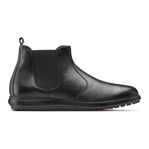 Chelsea Boots in pelle flexible, nero, 844-6117 - 26