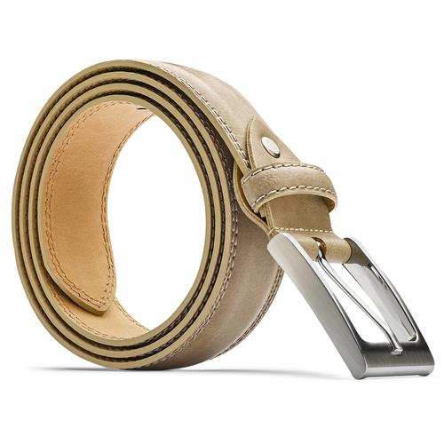 Cintura elegante da uomo bata, beige, 954-8828 - 26