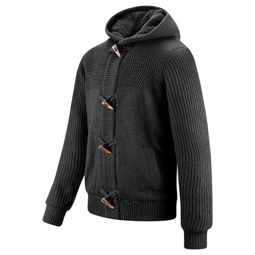 Giacca da uomo con cappuccio bata, nero, 979-6169 - 16