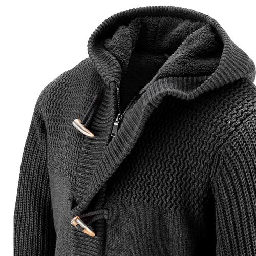 Giacca da uomo con cappuccio bata, nero, 979-6169 - 15