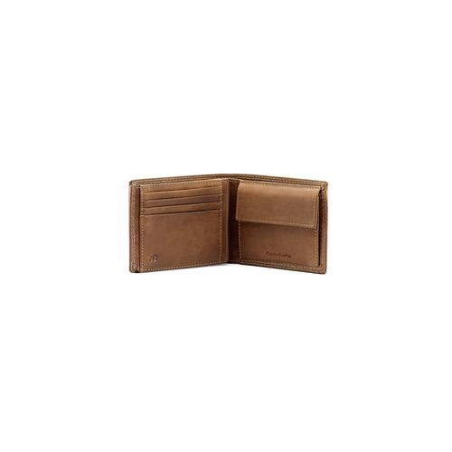 Portafoglio da uomo in pelle bata, marrone, 944-3129 - 16