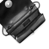 Pochette nera in pelle bata, nero, 964-6241 - 16