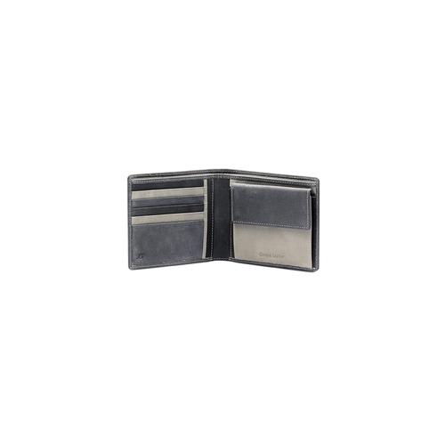 Portafoglio da uomo bicolor bata, grigio, 944-6135 - 16