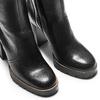 Stivali alti con tacco bata, nero, 794-6159 - 15