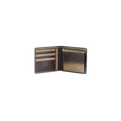 Portafoglio da uomo bicolor bata, marrone, 944-4135 - 16