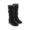 Stivali donna in suede bata, nero, 693-6391 - 16