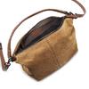 Borsa a spalla in suede bata, marrone, 963-3130 - 16