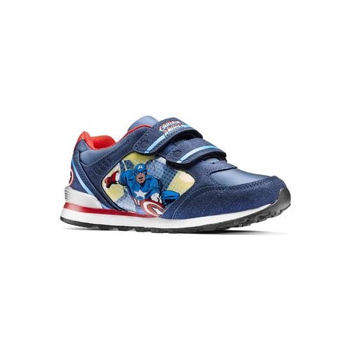 Sneakers Capitan America da bambino, blu, 311-9283 - 13