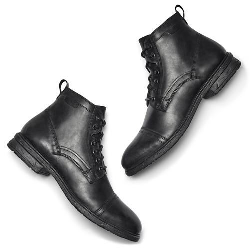 Stivaletti eleganti da uomo bata, nero, 894-6727 - 19