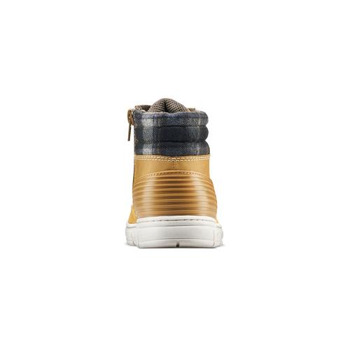 Scarponcini bimbo con zip mini-b, beige, 391-8397 - 16