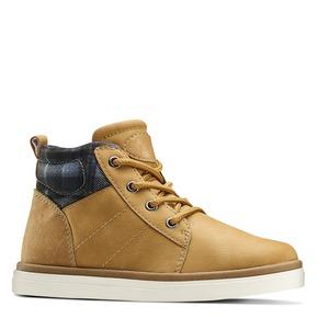 Sneakers alte da bambino mini-b, beige, 291-8172 - 13