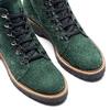 Stivaletti con lacci da donna bata, verde, 593-7268 - 15