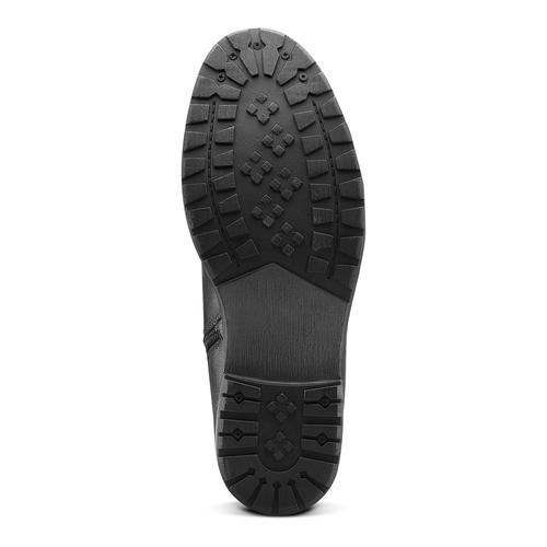 Stivaletti con lacci da uomo bata, nero, 891-6146 - 17