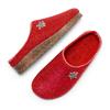 Pantofole da donna in lana bata, rosso, 579-5420 - 26