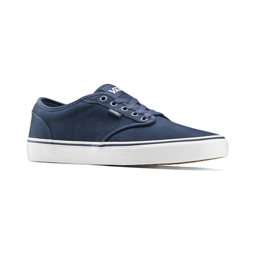 Sneakers Vans in suede in uomo vans, blu, 803-9210 - 13