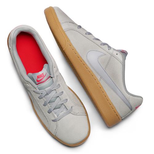 Sneakers Nike da uomo in suede nike, beige, 803-2302 - 19