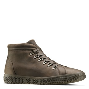 Sneakers da uomo in pelle bata, marrone, 844-4116 - 13