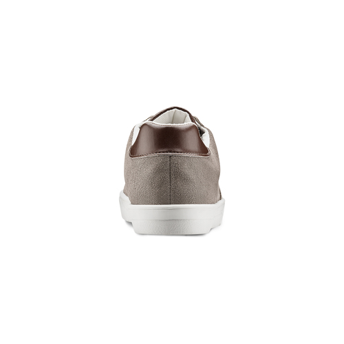 Sneakers in pelle scamosciata da uomo north-star, marrone, 843-3126 - 16