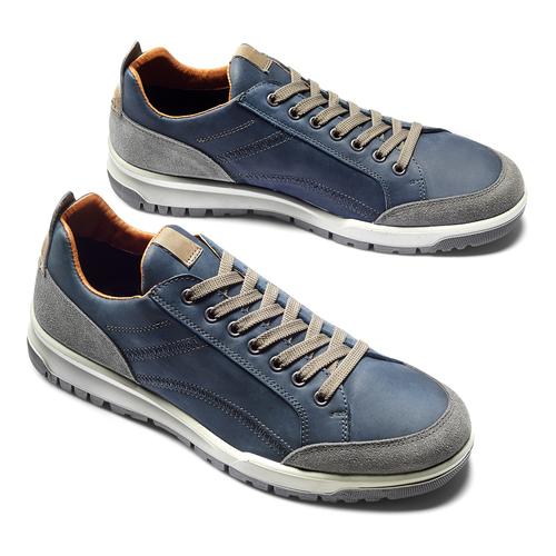 Scarpe casual da uomo bata, blu, 846-9105 - 19
