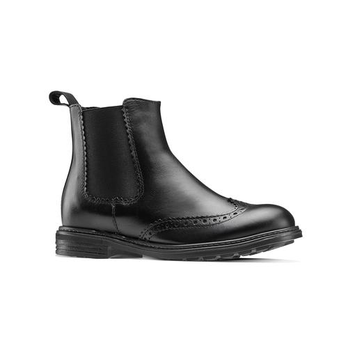 Chelsea Boots da bambini mini-b, nero, 394-6425 - 13