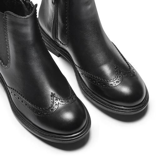 Chelsea Boots da bambini mini-b, nero, 394-6425 - 15