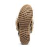 Ankle boots Michelle con dettagli in pelliccia bata, grigio, 593-2442 - 17