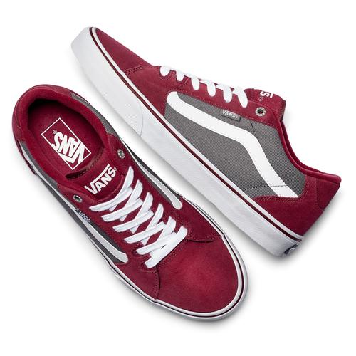 Sneakers Vans da uomo vans, rosso, 803-5104 - 19