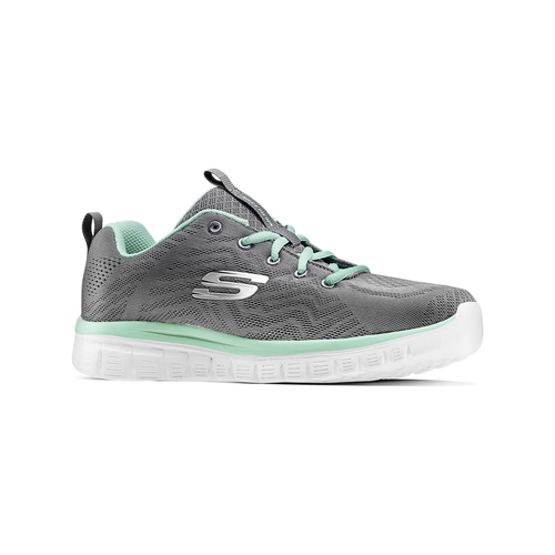 Scarpe sportive Skechers skechers, grigio, 509-2318 - 13