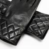 Guanti dettaglio matelassè bata, nero, 904-6131 - 15