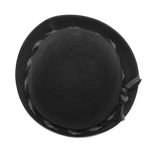 Cappello da donna in lana bata, nero, 909-6671 - 26