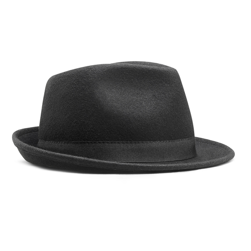 Cappello a tesa larga bata, nero, 909-6674 - 13