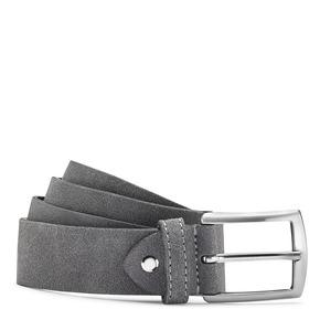 Cintura da uomo in suede bata, grigio, 953-2101 - 13