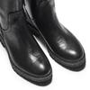 Stivali da donna in vera pelle bata, nero, 594-6701 - 15