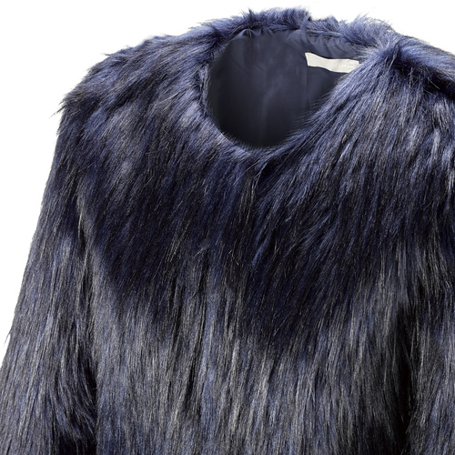 Pelliccia blu da donna bata, viola, 979-9173 - 15